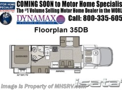 New 2018  Dynamax Corp Isata 5 Series 35DB Super C Bunk House RV W/ 8K Dsl Gen, Sat by Dynamax Corp from Motor Home Specialist in Alvarado, TX