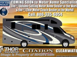 New 2018  Thor Motor Coach Chateau Citation Sprinter 24SS RV for Sale at MHSRV W/ Dsl Gen & Summit Pkg by Thor Motor Coach from Motor Home Specialist in Alvarado, TX
