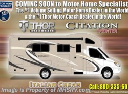 New 2018  Thor Motor Coach Chateau Citation Sprinter 24SR RV for Sale @ MHSRV W/Upgraded A/C by Thor Motor Coach from Motor Home Specialist in Alvarado, TX