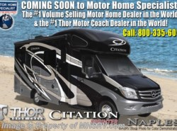 New 2018  Thor Motor Coach Chateau Citation Sprinter 24SR RV for Sale at MHSRV W/Summit Pkg & Dsl. Gen by Thor Motor Coach from Motor Home Specialist in Alvarado, TX
