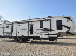 New 2018  Heartland RV ElkRidge 38RSRT Bunk Model W/2 Full Baths, Jacks, 2 A/C by Heartland RV from Motor Home Specialist in Alvarado, TX