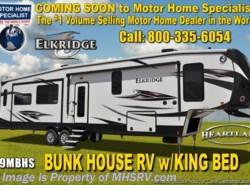 New 2018  Heartland RV ElkRidge 39MBHS Bunk House RV W/ 2 A/C, Dual Pane, Jacks by Heartland RV from Motor Home Specialist in Alvarado, TX