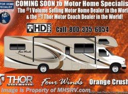 New 2018  Thor Motor Coach Four Winds 22E W/HD-Max, Ext TV, 15K BTU A/C, Back Up Cam by Thor Motor Coach from Motor Home Specialist in Alvarado, TX