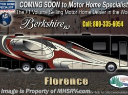 New 2018  Forest River Berkshire XLT 45A Bunk Model W/2 Full Baths, King, Sat, W/D by Forest River from Motor Home Specialist in Alvarado, TX