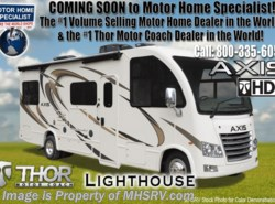 New 2018  Thor Motor Coach Axis 27.7 RUV for Sale at MHSRV W/15K A/C, IFS, 2 Slide by Thor Motor Coach from Motor Home Specialist in Alvarado, TX