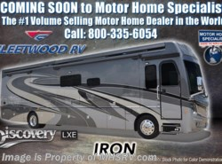New 2018  Fleetwood Discovery LXE 38K Bath & 1/2 RV for Sale W/King Bed, GPS, Sat by Fleetwood from Motor Home Specialist in Alvarado, TX
