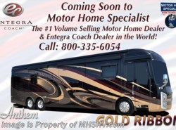 New 2018  Entegra Coach Anthem 44F Bath & 1/2 Luxury RV W/ Theater Seats, Solar by Entegra Coach from Motor Home Specialist in Alvarado, TX