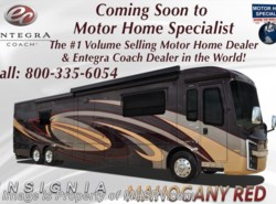 New 2018  Entegra Coach Insignia 44B Bath & 1/2 Luxury Coach W/OH TV & Wifi by Entegra Coach from Motor Home Specialist in Alvarado, TX