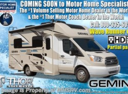New 2018  Thor Motor Coach Gemini 24TF RUV for Sale W/Diesel Gen, Heat Pump by Thor Motor Coach from Motor Home Specialist in Alvarado, TX