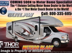 New 2018  Thor Motor Coach Outlaw 29J Toy Hauler Class C for Sale @ MHSRV by Thor Motor Coach from Motor Home Specialist in Alvarado, TX