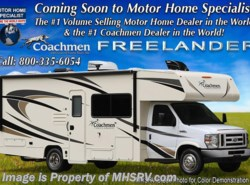 New 2018  Coachmen Freelander  26RSF W/15K A/C, Stabilizers, Ext. Kitchen & TV by Coachmen from Motor Home Specialist in Alvarado, TX