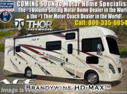 New 2018  Thor Motor Coach A.C.E. 32.1 ACE W/2 Full Baths, Ext TV, 5.5KW Gen & 2 A/C by Thor Motor Coach from Motor Home Specialist in Alvarado, TX