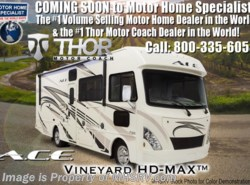 New 2018  Thor Motor Coach A.C.E. 32.1 ACE 2 Full Baths W/2 A/C, 5.5KW Gen, Ext TV by Thor Motor Coach from Motor Home Specialist in Alvarado, TX