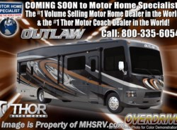 New 2018  Thor Motor Coach Outlaw 37GP Toy Hauler for Sale W/ 2 Patio Decks, 3 A/Cs by Thor Motor Coach from Motor Home Specialist in Alvarado, TX