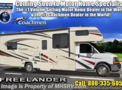 New 2019  Coachmen Freelander  27QBC W/ 15K A/C, Ext TV & Stabilizers by Coachmen from Motor Home Specialist in Alvarado, TX