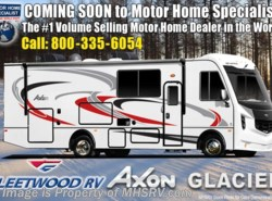 New 2018  Fleetwood Axon 29M W/ King Bed, Hydraulic Leveling, 2 A/Cs, Sat by Fleetwood from Motor Home Specialist in Alvarado, TX