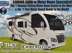 New 2019  Thor Motor Coach Axis 25.6 RUV for Sale at MHSRV.com W/Stabilizers by Thor Motor Coach from Motor Home Specialist in Alvarado, TX