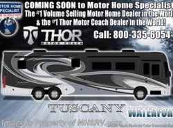 New 2019  Thor Motor Coach Tuscany 45MX Bath & 1/2 W/ Theater Seats, King, Aqua Hot by Thor Motor Coach from Motor Home Specialist in Alvarado, TX