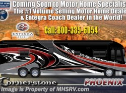New 2019  Entegra Coach Cornerstone 45B Bath & 1/2 W/Stonewall, WiFi, Ext Freezer by Entegra Coach from Motor Home Specialist in Alvarado, TX