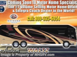 New 2019  Entegra Coach Anthem 44F Bath & 1/2 Luxury RV W/Theater Seats, WiFi by Entegra Coach from Motor Home Specialist in Alvarado, TX