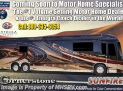 New 2019  Entegra Coach Cornerstone 45W Bath & 1/2 W/Solar, WiFi, Theater Seats by Entegra Coach from Motor Home Specialist in Alvarado, TX
