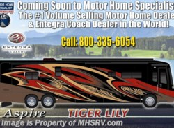 New 2019  Entegra Coach Aspire 44R Bunk Model Bath & 1/2 Luxury RV W/Solar by Entegra Coach from Motor Home Specialist in Alvarado, TX