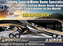 New 2019  Entegra Coach Cornerstone 45Y Luxury RV W/Theater Seats, WiFi, Ext Freezer by Entegra Coach from Motor Home Specialist in Alvarado, TX