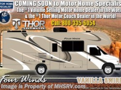 New 2019  Thor Motor Coach Four Winds 24F RV for Sale W/15K A/C, Ext. TV, 3 Burner Range by Thor Motor Coach from Motor Home Specialist in Alvarado, TX