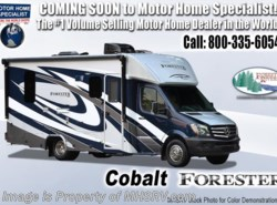 New 2019  Forest River Forester MBS 2401S Sprinter Diesel RV W/Diesel Generator by Forest River from Motor Home Specialist in Alvarado, TX