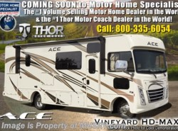 New 2019 Thor Motor Coach A.C.E. 30.2 ACE Bunk Model W/5.5KW Gen, 2 A/Cs & Ext TV available in Alvarado, Texas