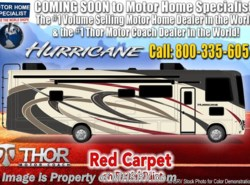 New 2019  Thor Motor Coach Hurricane 34J Bunk Model RV for Sale W/King by Thor Motor Coach from Motor Home Specialist in Alvarado, TX