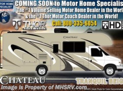 New 2019  Thor Motor Coach Chateau 22E RV for Sale W/ Stabilizers, 15K A/C, Ext TV by Thor Motor Coach from Motor Home Specialist in Alvarado, TX