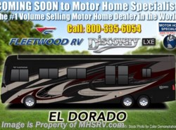 New 2019  Fleetwood Discovery LXE 44B Bath & 1/2 Bunk Model W/Tech Pkg, 450HP, King by Fleetwood from Motor Home Specialist in Alvarado, TX