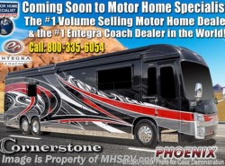 New 2019  Entegra Coach Cornerstone 45Y Luxury RV W/WiFi, Ext Freezer, Theater Seating by Entegra Coach from Motor Home Specialist in Alvarado, TX
