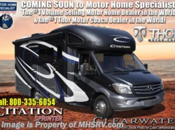 New 2019  Thor Motor Coach Chateau Citation Sprinter 24SK W/ Summit Pkg, Dsl Gen, Stabilizers by Thor Motor Coach from Motor Home Specialist in Alvarado, TX