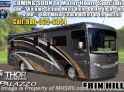 New 2019  Thor Motor Coach Palazzo 33.5 Bunk Model Diesel RV for Sale at MHSRV by Thor Motor Coach from Motor Home Specialist in Alvarado, TX