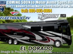 New 2019 Fleetwood Discovery LXE 44B Bath & 1/2 Bunk Model Diesel Pusher for Sale available in Alvarado, Texas