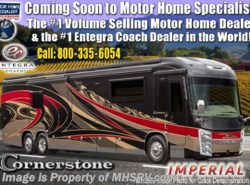 New 2019 Entegra Coach Cornerstone 45F Bath & 1/2 W/Theater Seats, Solar, King available in Alvarado, Texas