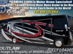 New 2019 Thor Motor Coach Outlaw 38MB Toy Hauler RV W/3 Season Wall & Garage Sofas available in Alvarado, Texas