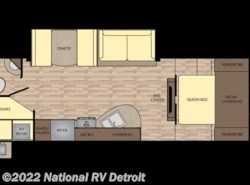 New 2017  CrossRoads Sunset Trail Super Lite 264BH by CrossRoads from National RV Detroit in Belleville, MI