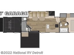 New 2017  Heartland RV Road Warrior RW427 by Heartland RV from National RV Detroit in Belleville, MI
