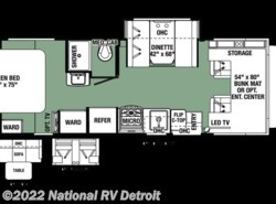 New 2017  Forest River Forester MBS 2401R by Forest River from National RV Detroit in Belleville, MI