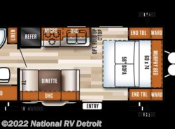 New 2017  Forest River Salem Cruise Lite 171RBXL by Forest River from National RV Detroit in Belleville, MI