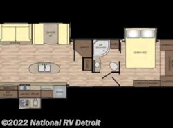 New 2018  CrossRoads Sunset Trail Grand Reserve 33SI by CrossRoads from National RV Detroit in Belleville, MI