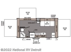 Used 2012  Forest River Rockwood Roo 183 by Forest River from National RV Detroit in Belleville, MI