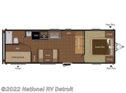 Used 2014  Keystone Hideout 26B by Keystone from National RV Detroit in Belleville, MI