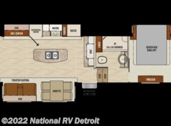 New 2018  Coachmen Chaparral 336TSIK by Coachmen from National RV Detroit in Belleville, MI