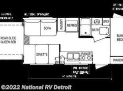 Used 2008  Skyline Malibu 2110 by Skyline from National RV Detroit in Belleville, MI