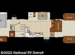New 2018  Coachmen Chaparral 370FL by Coachmen from National RV Detroit in Belleville, MI