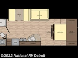 New 2018  CrossRoads Sunset Trail Super Lite 254RB by CrossRoads from National RV Detroit in Belleville, MI